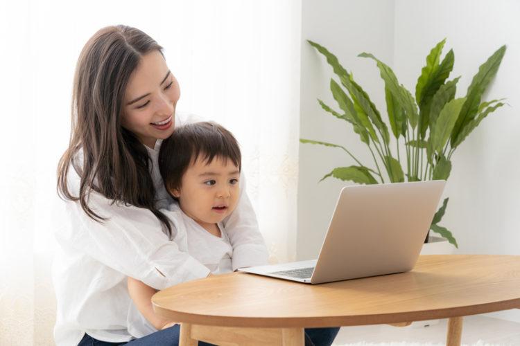 子育てしながらwebデザイナー